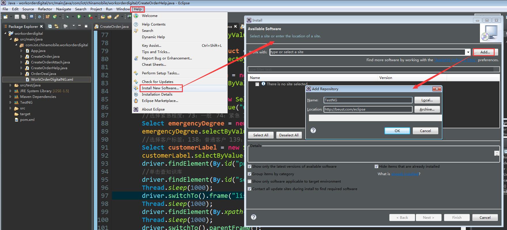 Selenium+Java+Maven+TestNG框架搭建